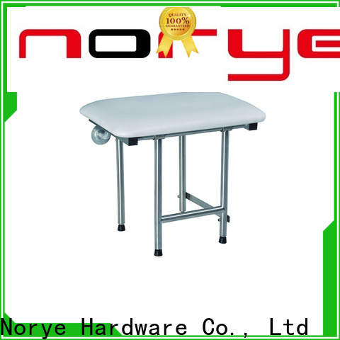 Norye stainless steel folding shower seat wholesale for residential