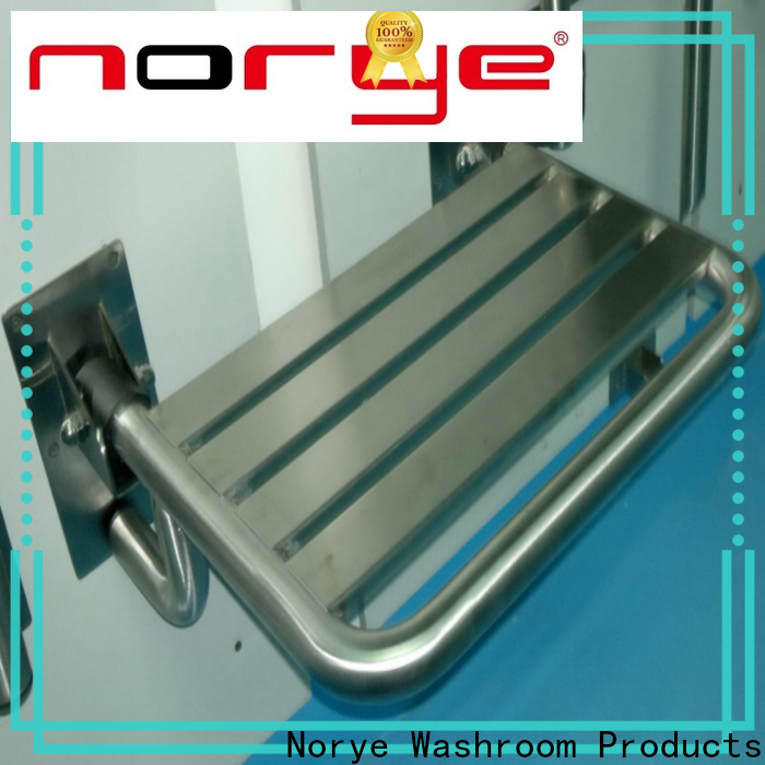 Norye disabled shower seats wall mounted factory direct supply for washrooms