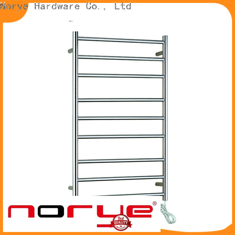 Norye bathroom heated towel rail from China for clothes