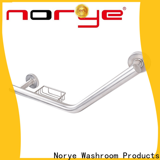 Norye hot selling hand grab bar with soap dish for home use