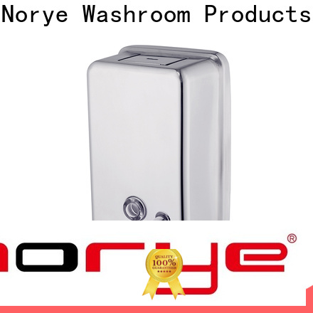 Norye top quality stainless steel soap dispenser wall mounted with good price for home use