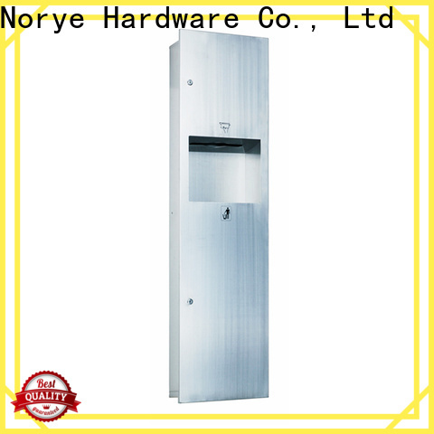 Norye stainless steel automatic paper towel dispenser with waste bin for home