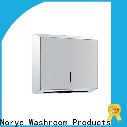 Norye worldwide metal hand towel dispenser manufacturer for hotel
