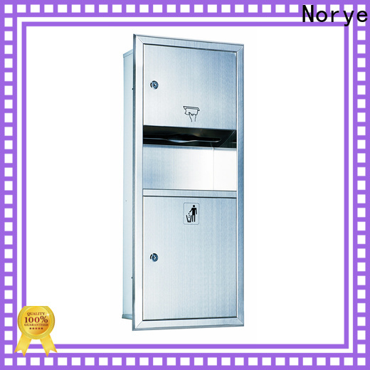 Norye factory price waste paper bin factory direct supply for lavatory