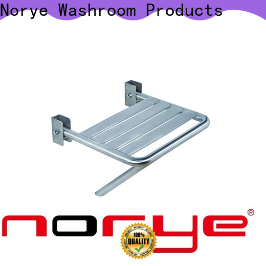 Norye popular stainless steel shower seat manufacturer for bathroom