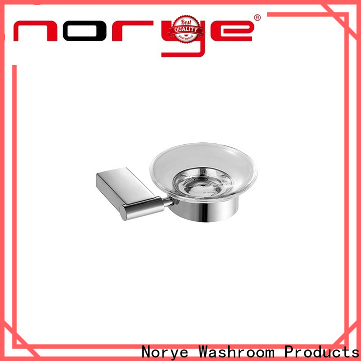 Norye practical stainless steel toilet accessories with square base for bathroom