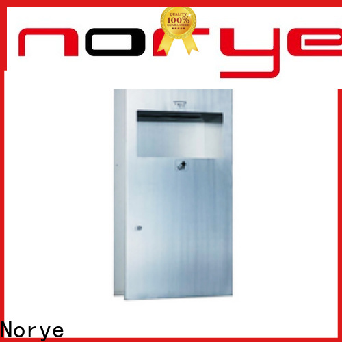 Norye quality wall mounted waste receptacle with waste bin for home
