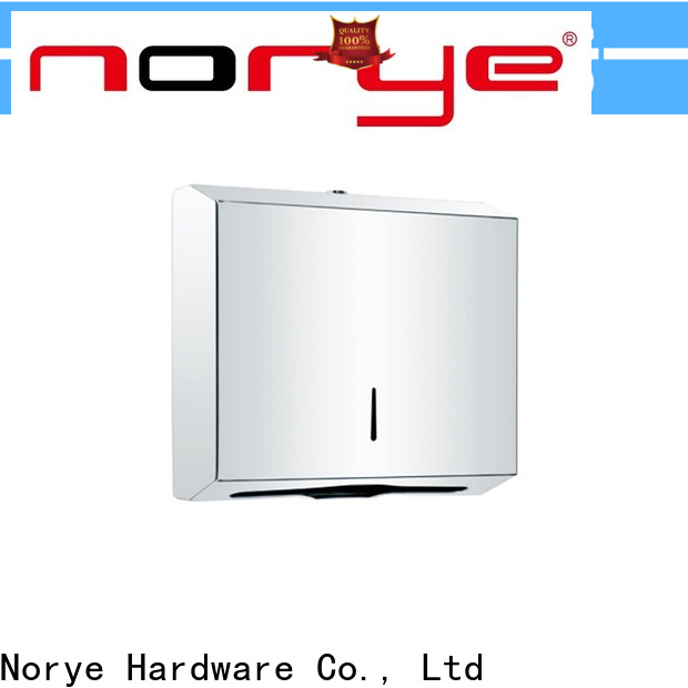 Norye hot selling stainless paper towel dispenser with good price for hotel