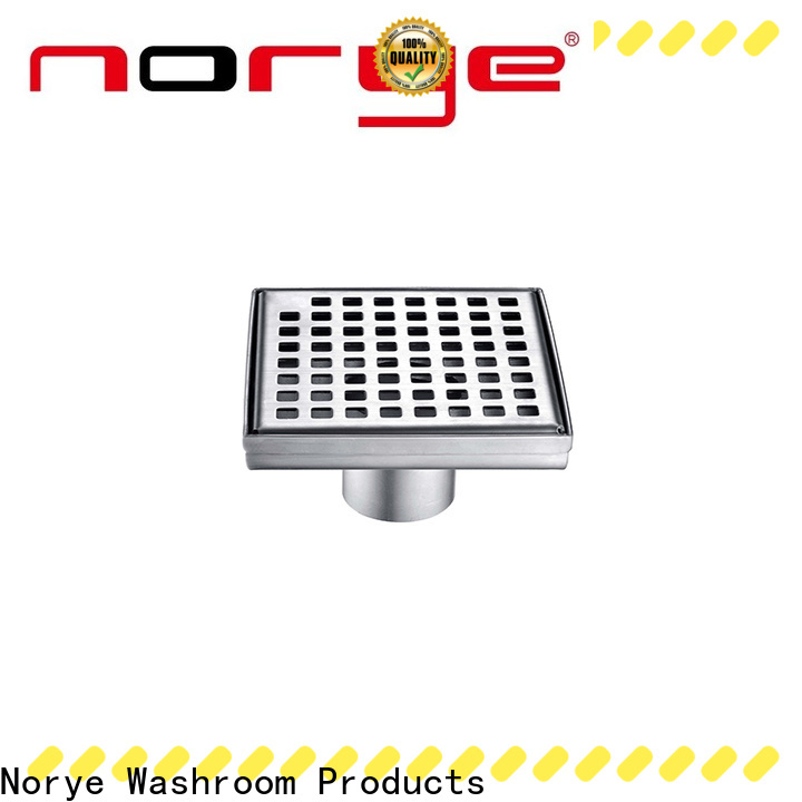 Norye practical stainless steel floor drain factory for residential