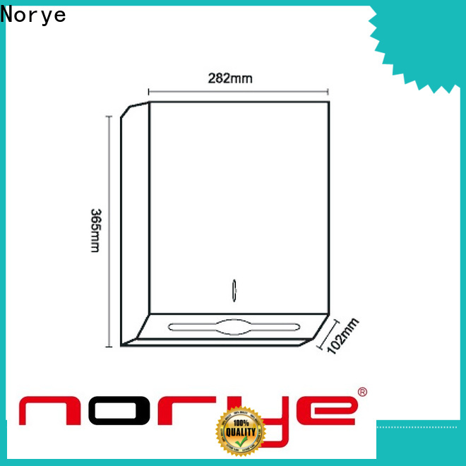 Norye best stainless steel roll towel dispenser supply for hotel