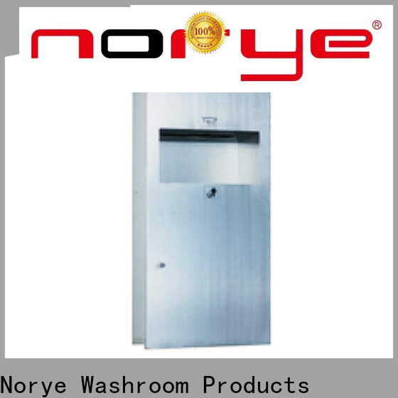 Norye surface mounted waste receptacle factory direct supply for hotel