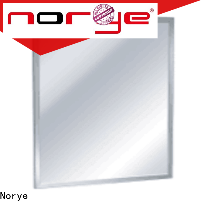 Norye stainless framed mirror series for hotel