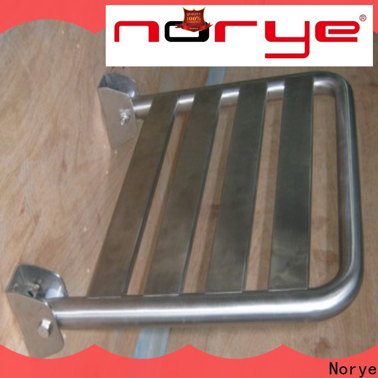 Norye reliable folding shower seat supply for bathroom