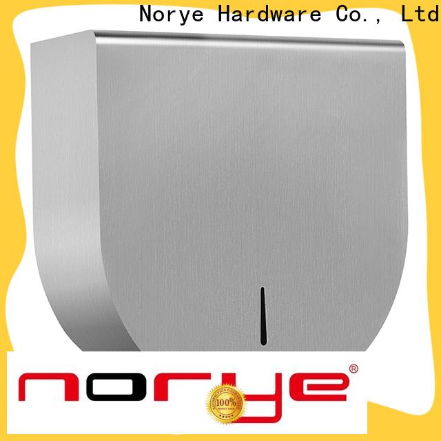 Norye stainless steel tissue dispenser manufacturer for hotel