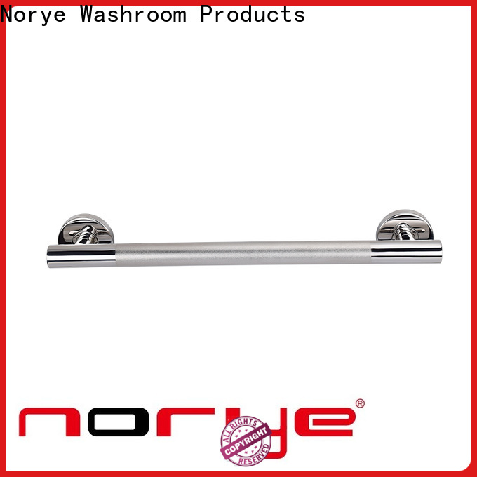 Norye cheap grab bar for disabled toilet white coated for hotel