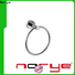 Norye top bath towel holder for wall with square base for home