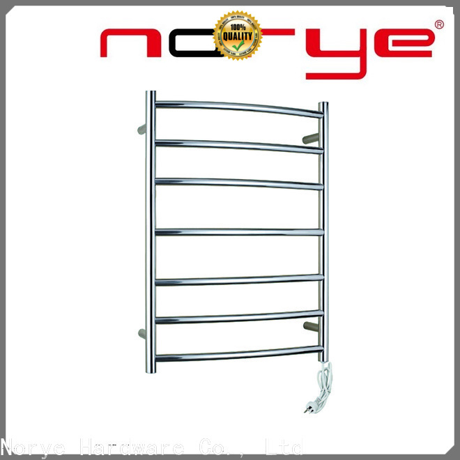 Norye best bathroom heated towel rail from China for hotel