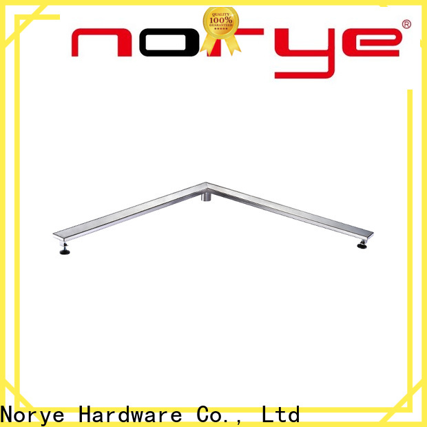Norye white coated finish bathroom water drain directly sale for disabled people
