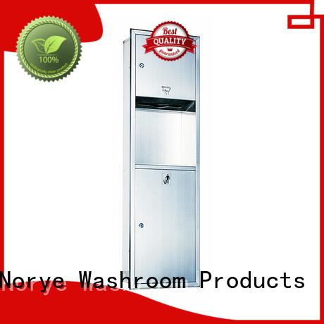 with hand dryer waste paper bin custom for washroom Norye