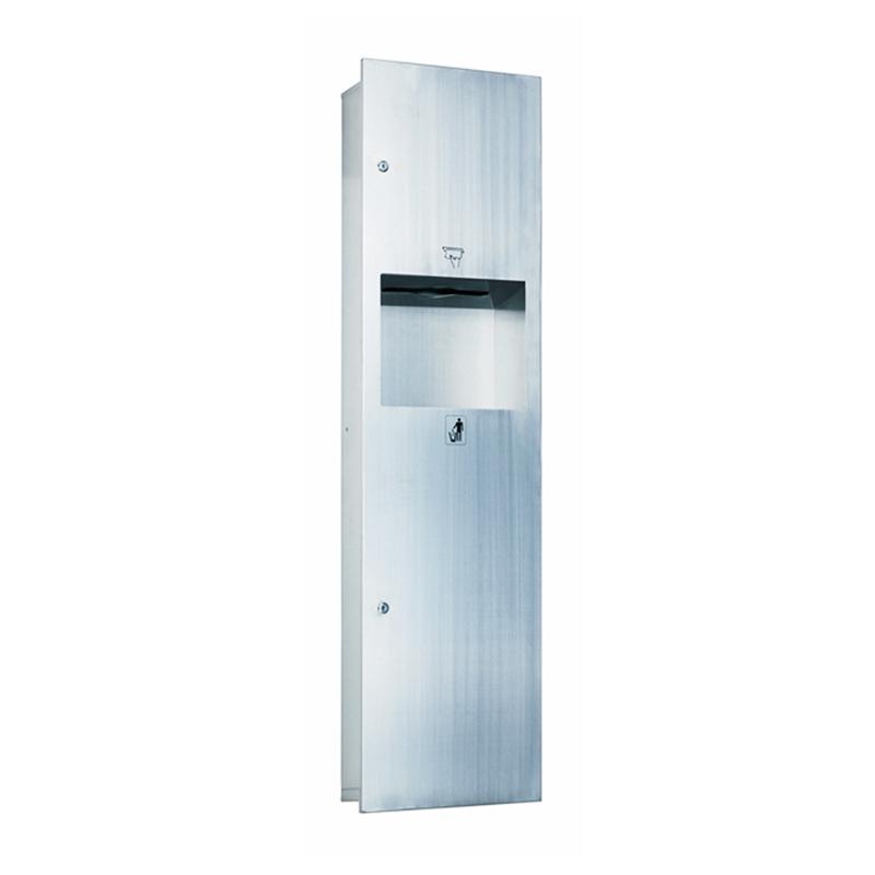 2 in 1 Toilet Paper dispenser with Waste Bin Combination HA02-01