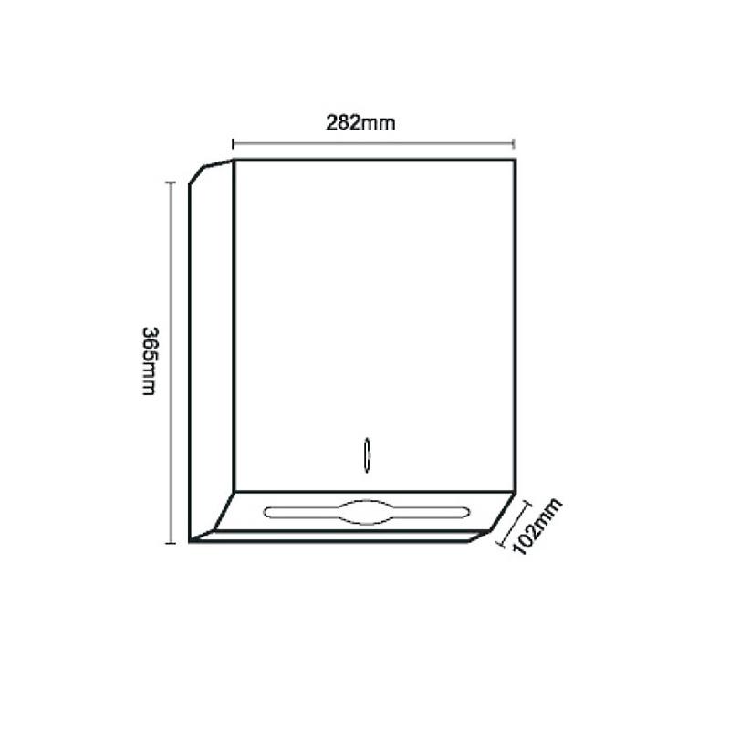 Z-folded paper towel dispenser for kitchen,Washroom IA01-01