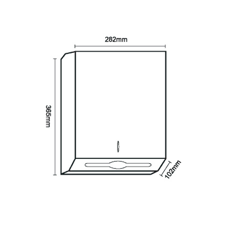Norye steel paper towel dispenser wholesale for bathroom-1