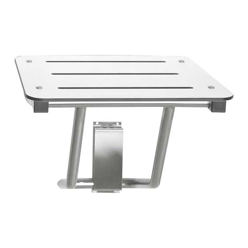 Foldable Wall Mount Shower Seat Stainless Steel