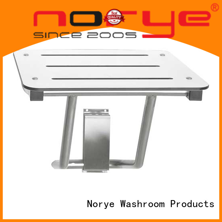 Norye white coated finish safety bath seat for disabled people