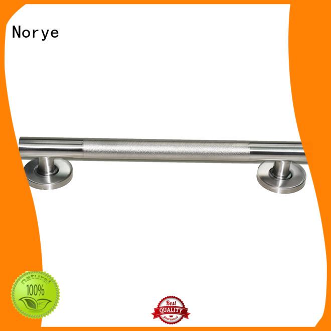 folding grab bar soap dish peened safety Norye Brand