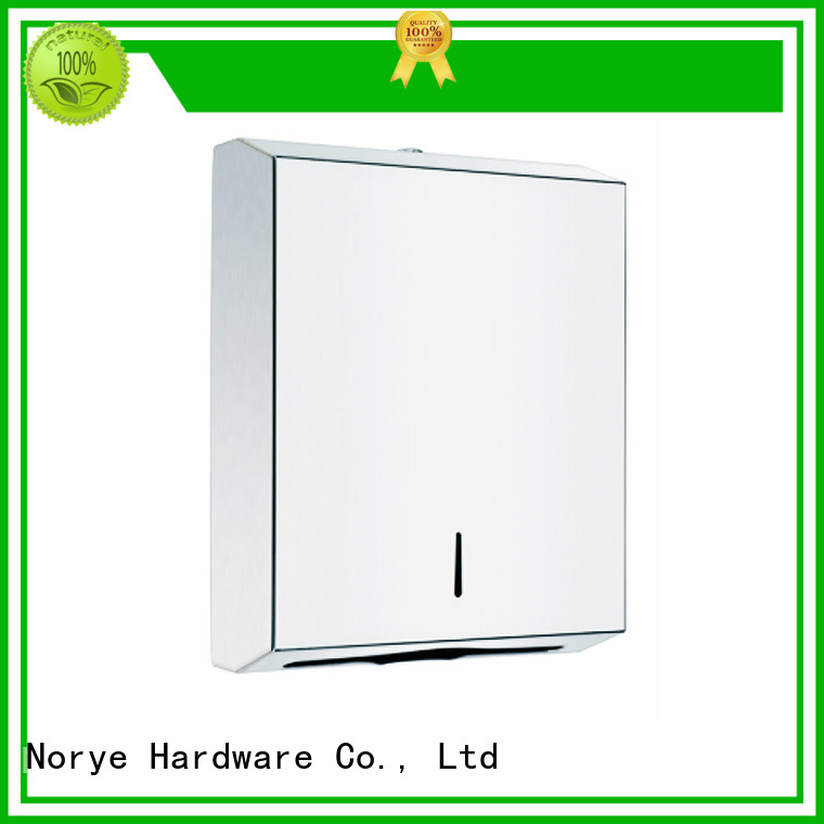 Norye Brand steel zfolded stainless residential paper towel dispenser
