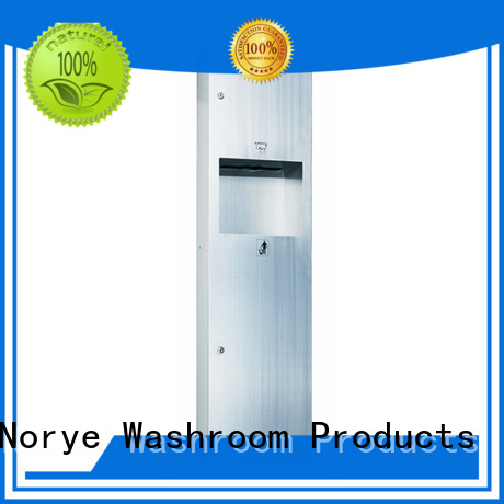 stainless steel automatic paper towel dispenser for lavatory Norye