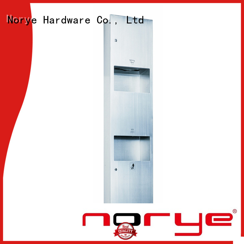 Norye semi recessed waste receptacle supply for home