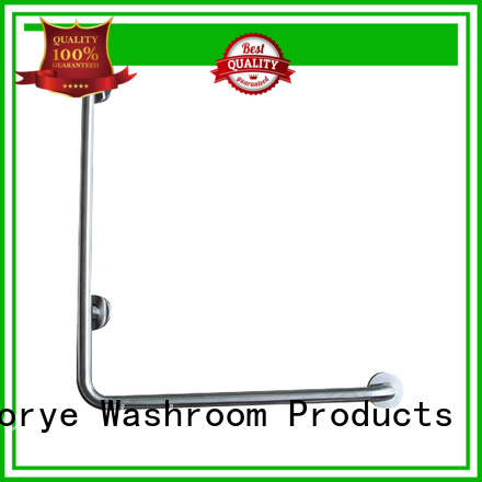 Norye brushed restroom grab bars for bathroom