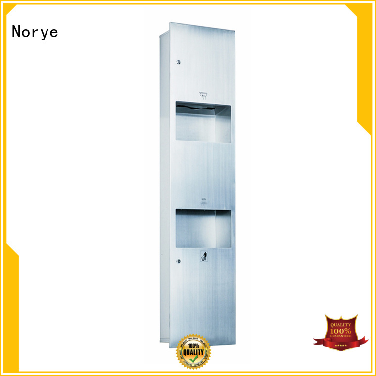 Quality Norye Brand tissue recessed waste paper bin