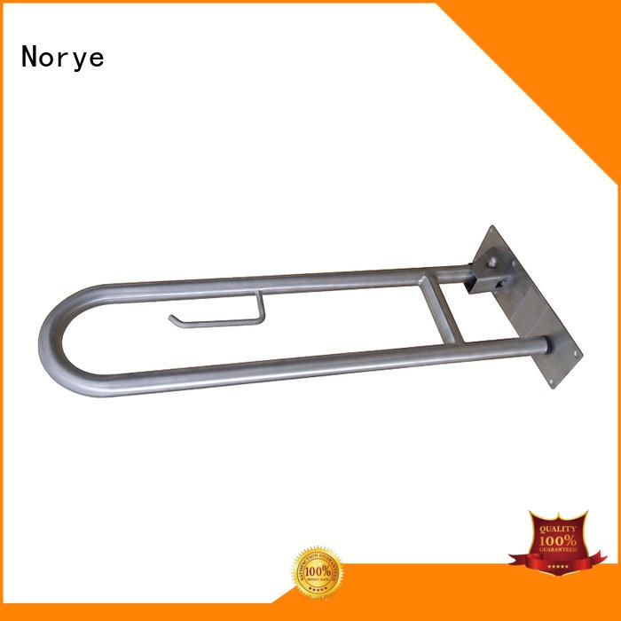 handicap bars straight grab bar soap dish Norye Brand