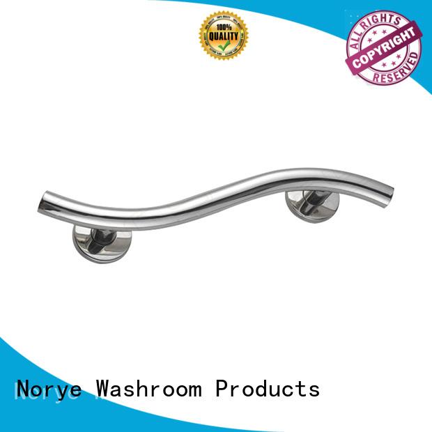brushed grab bar soap dish supplier for bathroom Norye