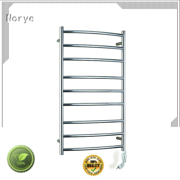 Norye freestanding electric heated towel rack wholesale for clothes