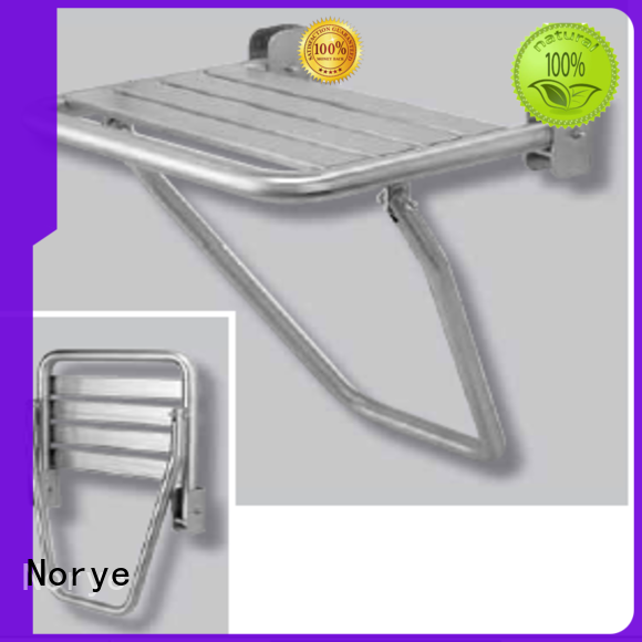 Norye stainless steel stainless steel shower bench factory direct supply for washrooms
