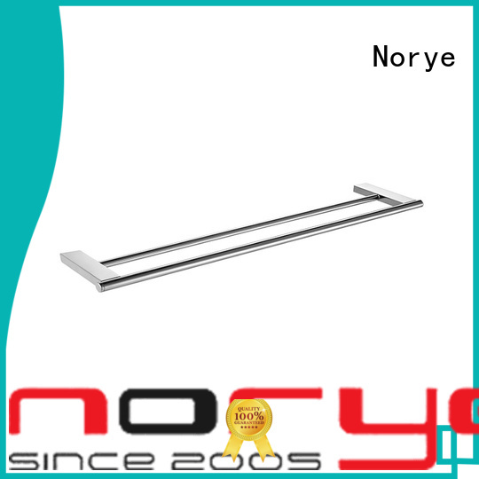 Norye towel bar with square base for home
