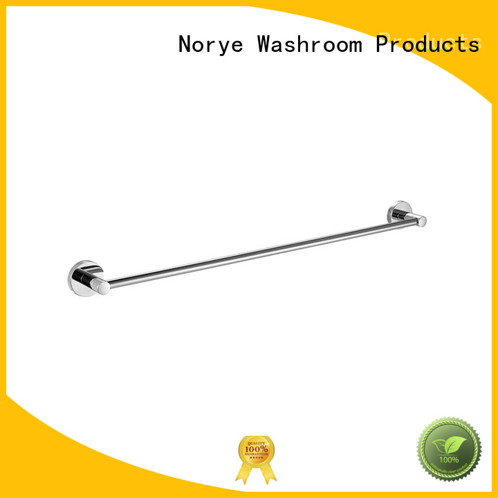 Norye with square base wall mounted towel rack customized for washroom