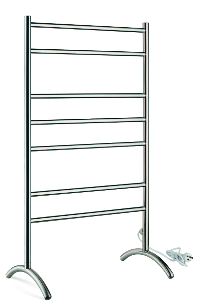 Norye chrome curved electric towel rail supplier for bathroom-1