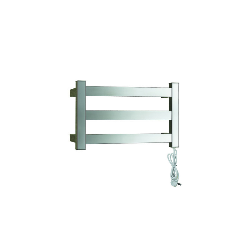 3 Rails Heated Towel Warmer with Stainless Steel 304 materials,Square tube LS03