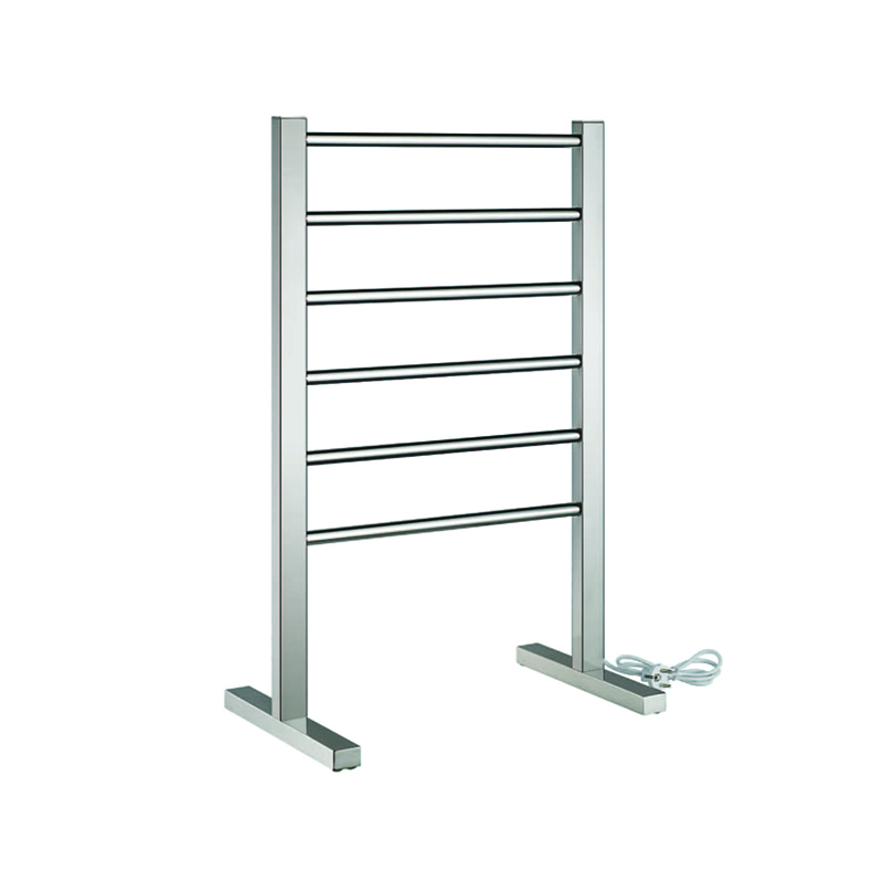 6-Bar Freestanding  Plug In Corded Electric Towel Warmer SR06
