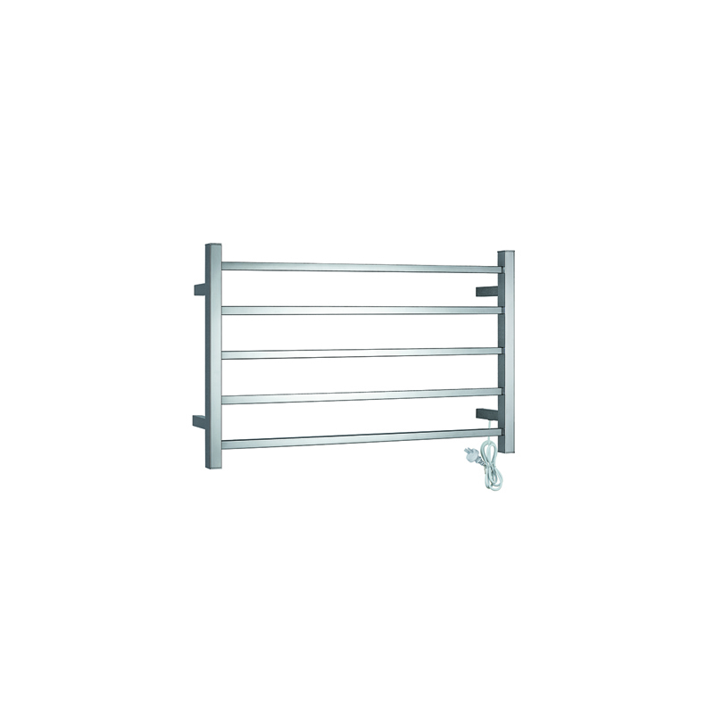 5-Bars Stainless Steel Electric Heated Towel Rail CS05-01/02
