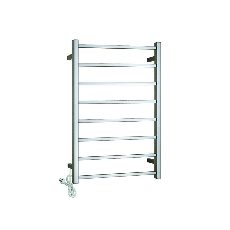 8-Bars Wall Mount Heated Towel Warmer CS08-01/02