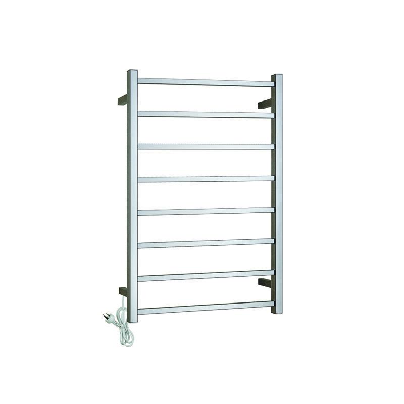 8-Bars Wall Mount Heated Towel Warmer CS08-01/02