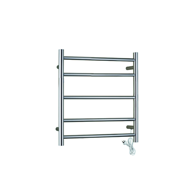Stainless Steel Electric Heated Towel Rail Classic Round Series CR05-01/02S