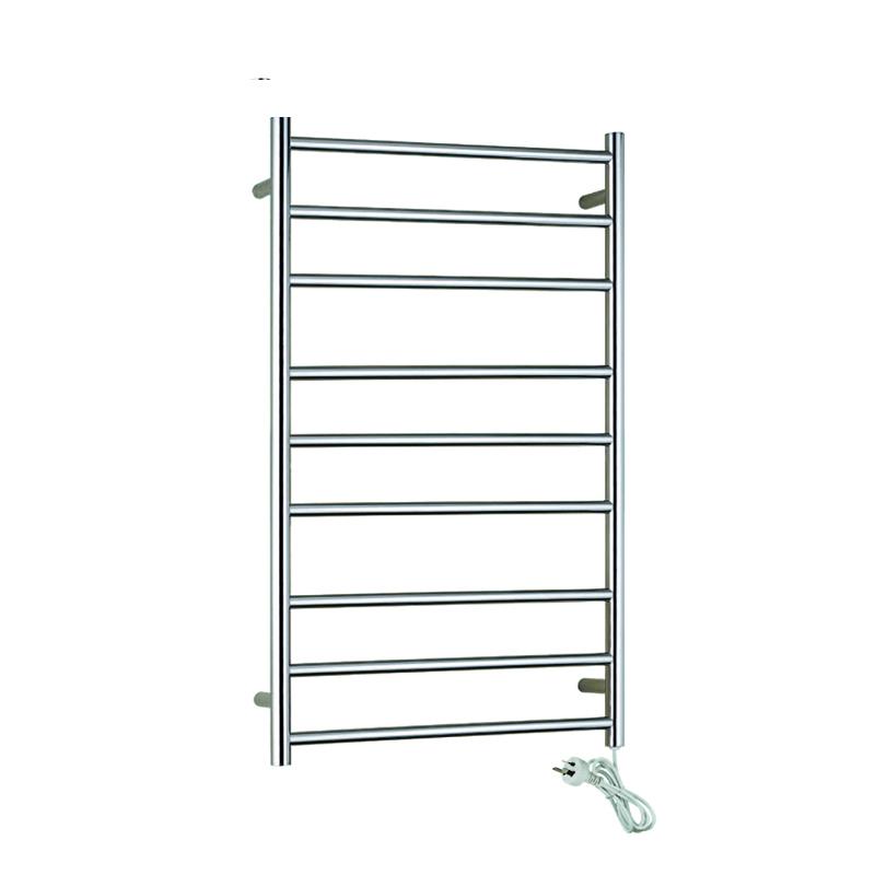 Stainless Steel Electric Heated Towel Racks 9-Bars