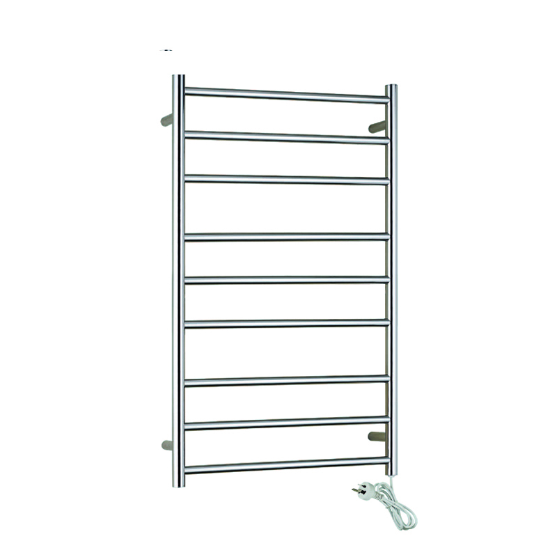 Stainless Steel Electric Heated Towel Racks 9-Bars