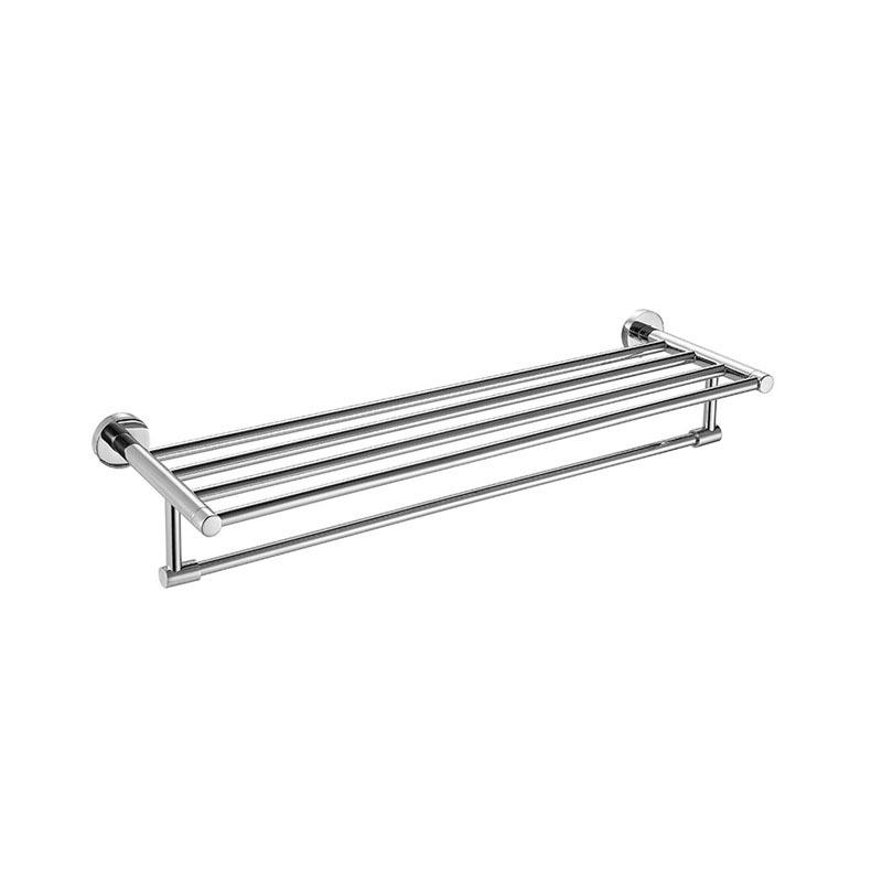 Bathroom Bath Towel Rack Towel Bar Stainless Steel JA04